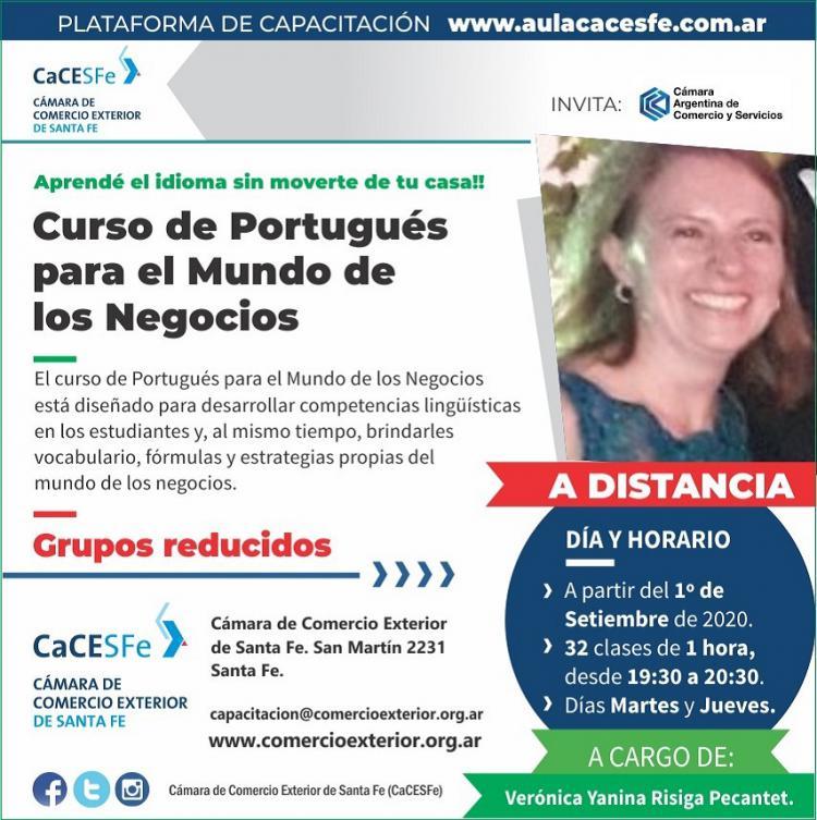 Curso de Portugu�s para el Mundo de los Negocios
