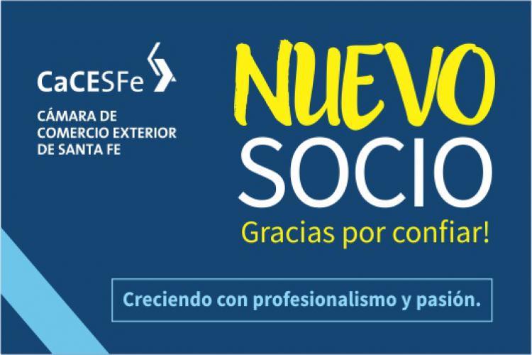 Bienvenidos 2 nuevos socios a CaCESFe