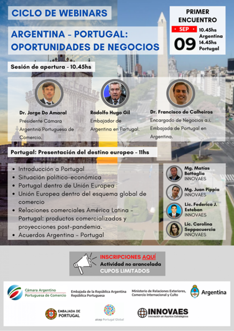 Argentina - Portugal: Oportunidades de negocios