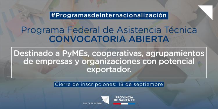 Programa Federal De Asistencia Tecnica En Negocios Internacionales