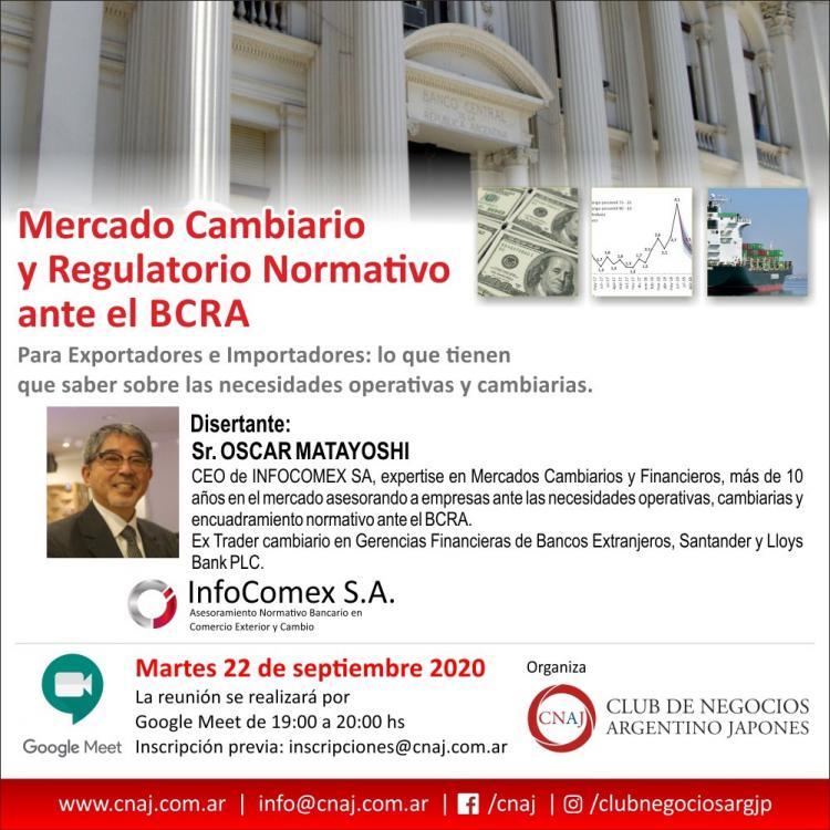 Mercado Cambiario y Regulatorio Normativo ante el BCRA