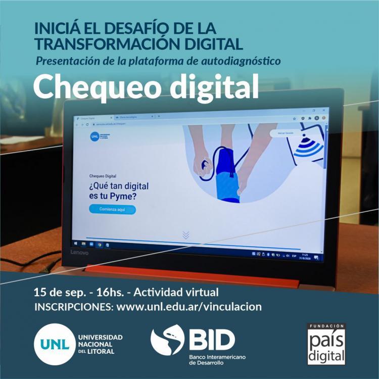 Lanzamiento de la Plataforma: Chequeo Digital