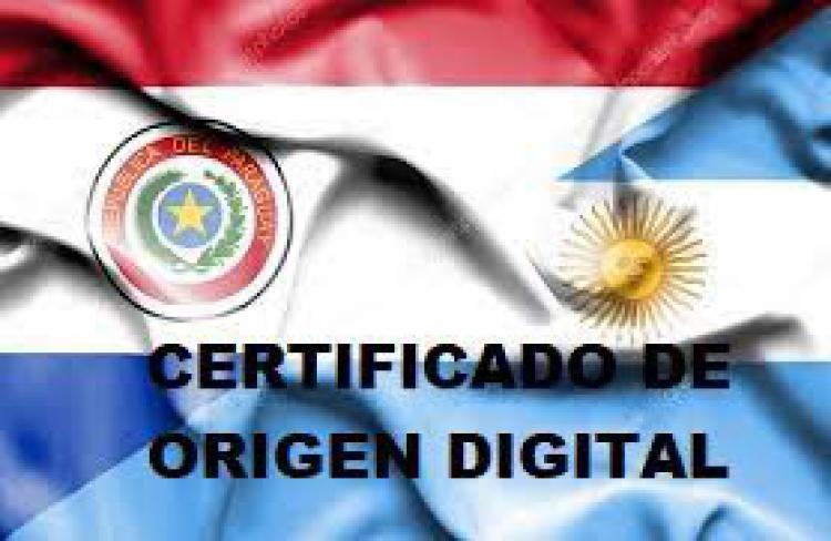 Los Certificados De Origen Digitales (COD) En El Comercio Rec�proco Con Paraguay