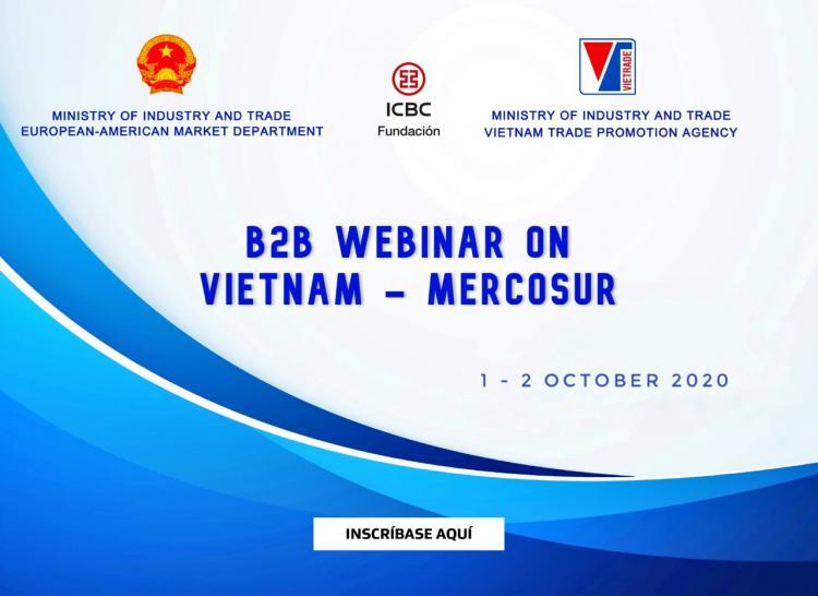 B2B Webinar Vietnam-Mercosur