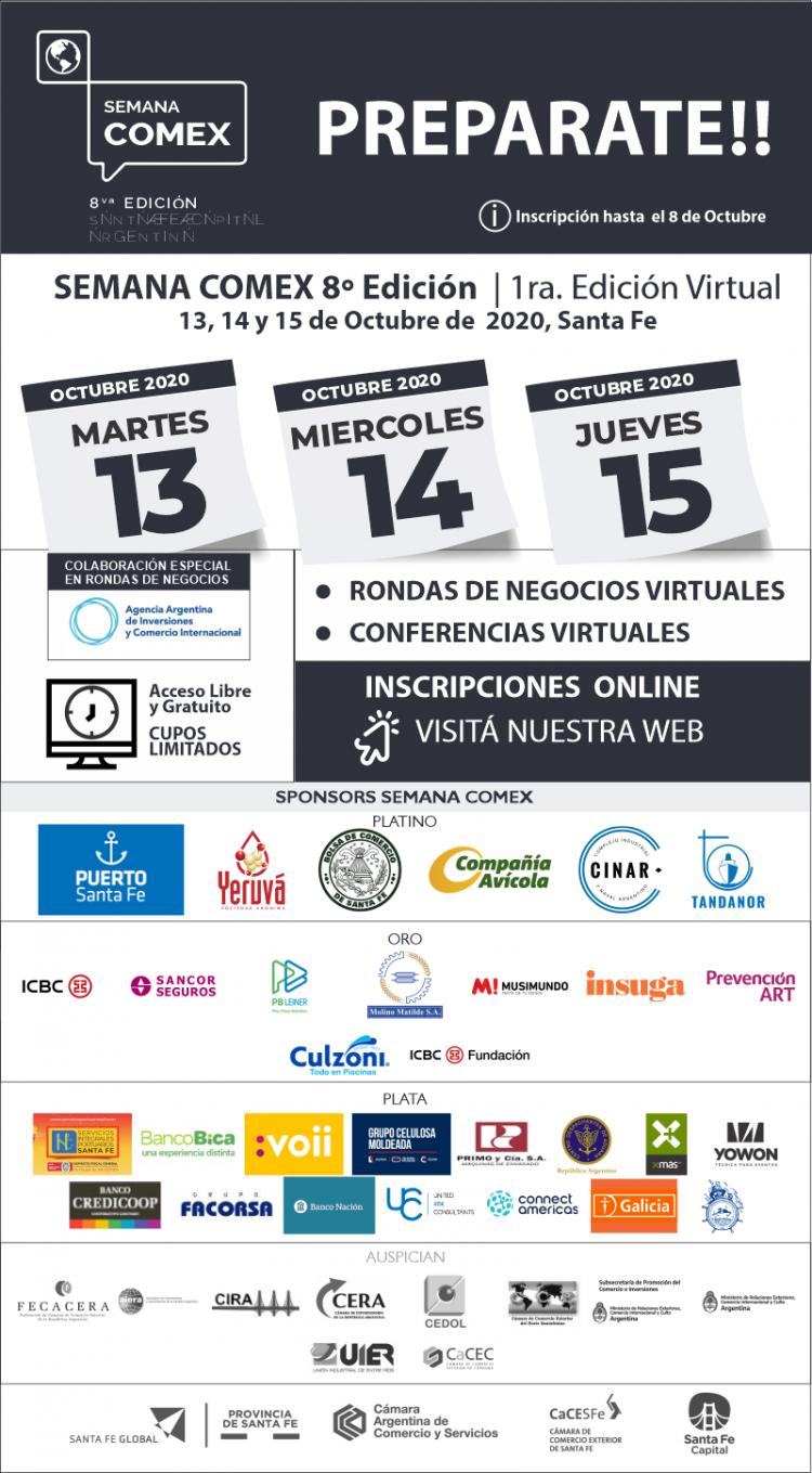 Semana Comex 2020: La 8va Edici�n consecutiva en Formato Totalmente Virtual