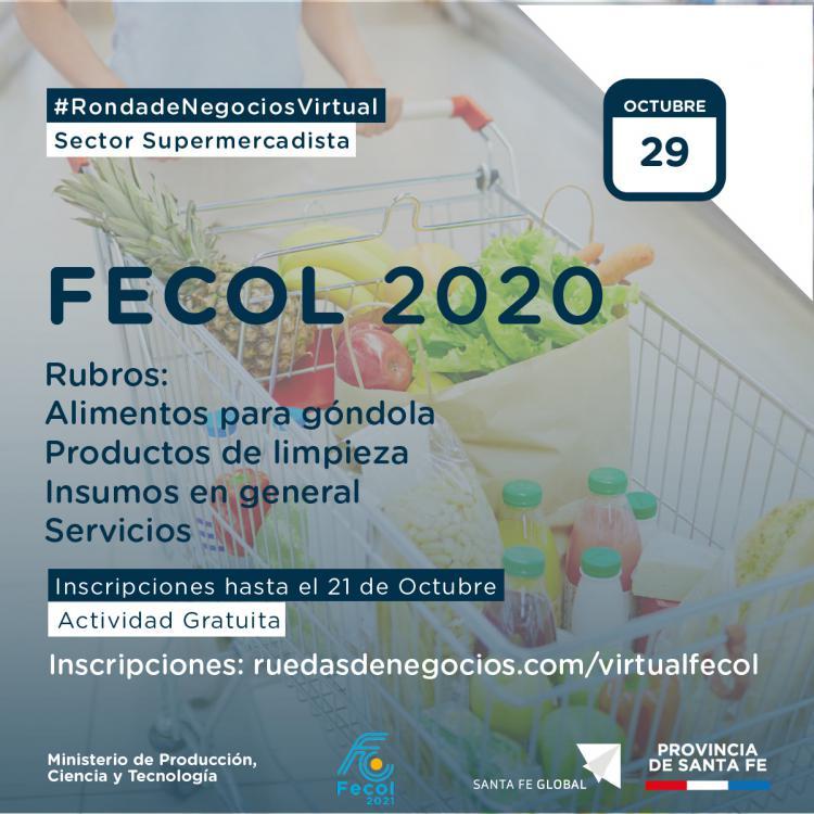 Ronda Virtual de Negocios Supermercadista - FECOL 2020.