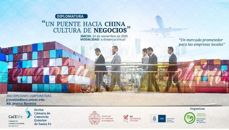 Diplomatura Un puente hacia China: Cultura de Negocios