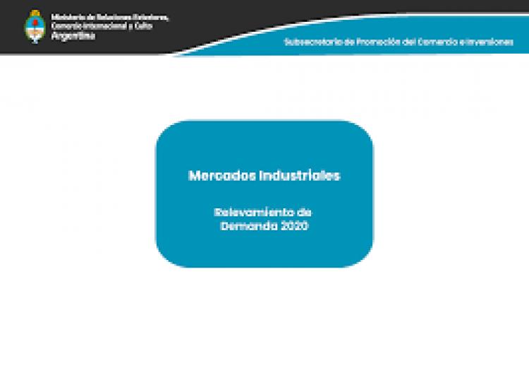 Relevamiento de la Demanda 2020 de Mercados Industriales