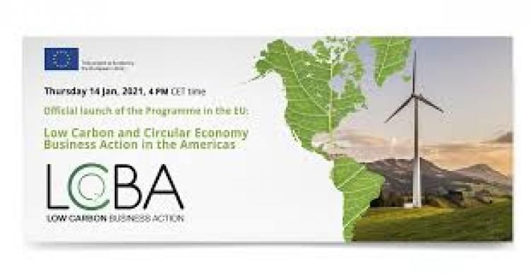 Sumate al Programa Low Carbon and Circular Economy Business Action in the Americas de la Unión Europea