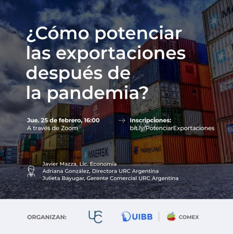 ¿Cómo Potenciar las Exportaciones después de la Pandemia?