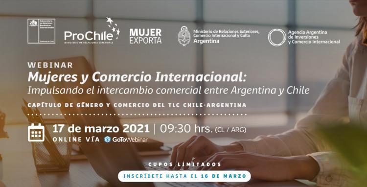 Seminario Mujeres y Comercio Internacional en el marco del Acuerdo Comercial Argentina - Chile