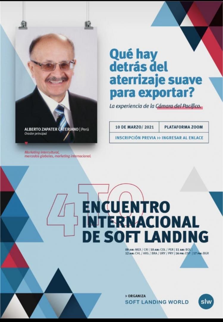4to. Encuentro Internacional de Soft Landing - Camara del Pacifico
