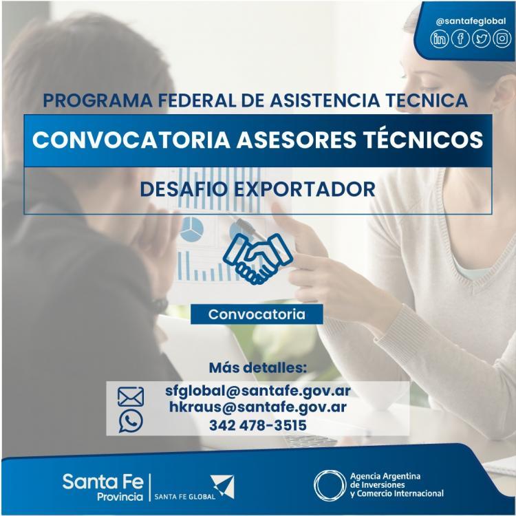 Convocatoria Asesores Técnicos en Negocios Internacionales