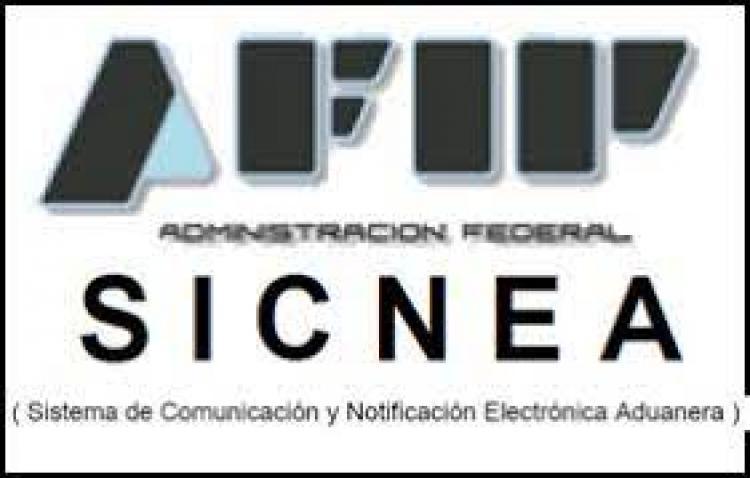 Resolución General 4966/2021 - Sistema de Comunicación y Notificación Electrónica Aduanera (SICNEA). Resolución General N° 3.474, sus modificatorias y sus complementarias. Su modificación.