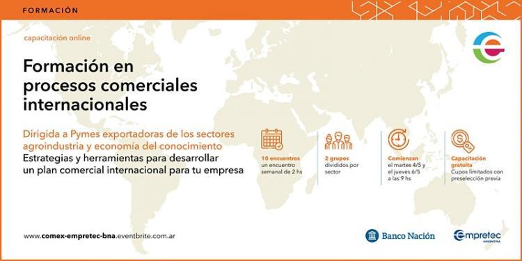 Programa de Formacion en Procesos Comerciales Internacionales