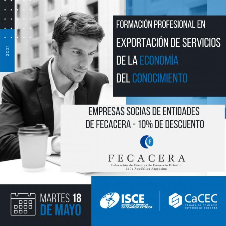 Formacion profesional en Exportacion de Servicios de la Economia del Conocimiento