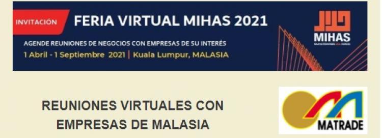 Feria Internacional MIHAS 2021 - en formato virtual -