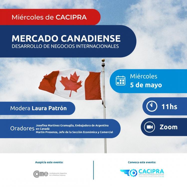 Para conocer el Mercado Canadiense