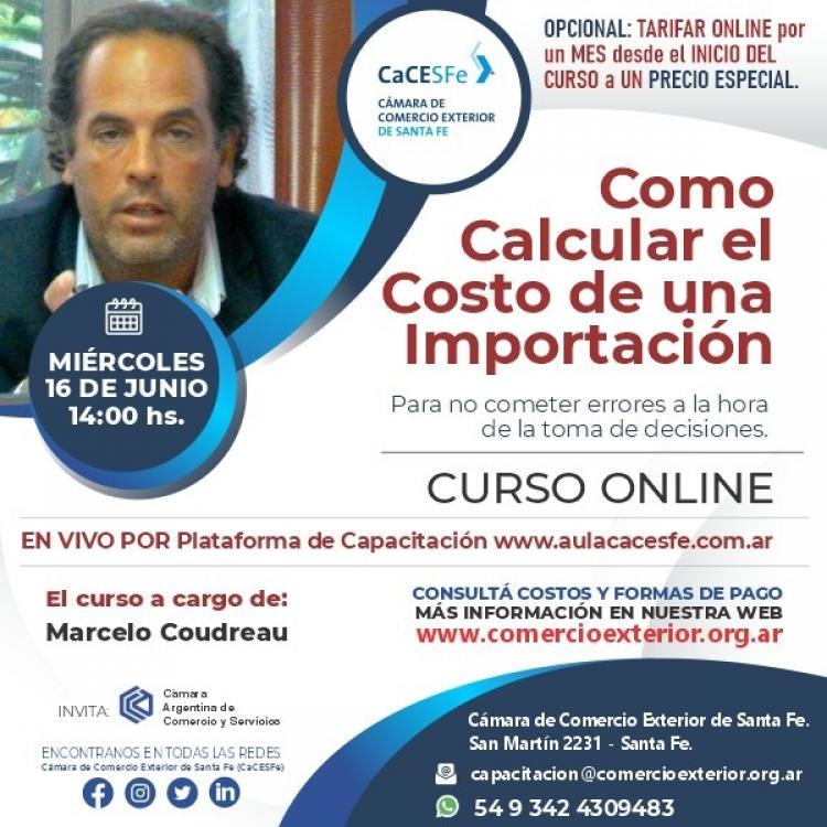 #ULTIMOS LUGARES -Curso Como Calcular el Costo de Una Importacion