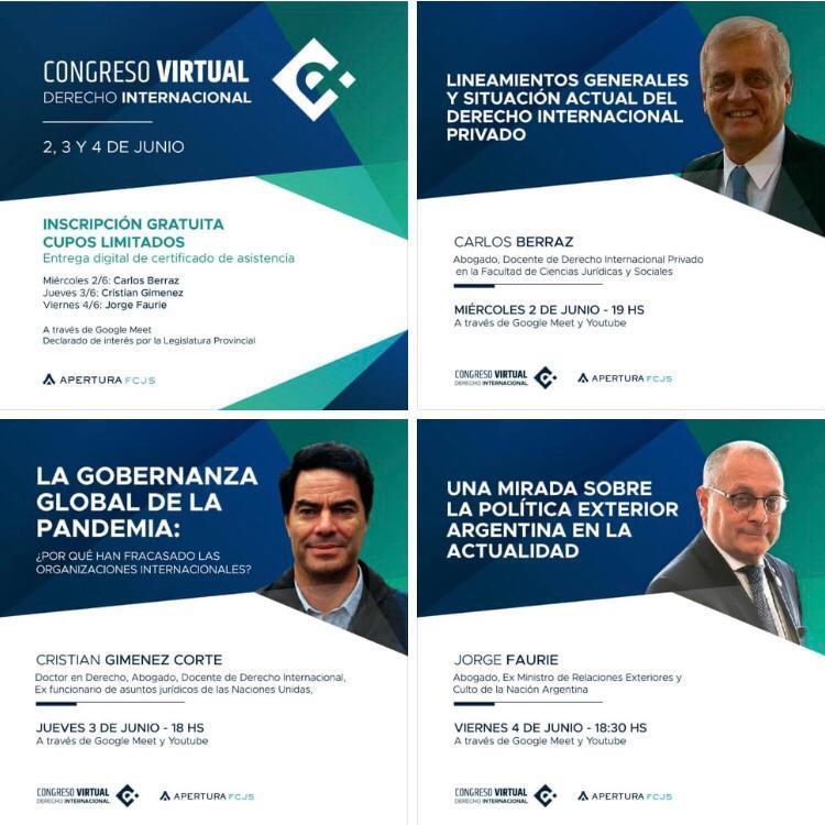 Congreso Virtual de Derecho Internacional