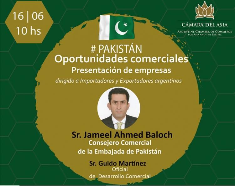Oportunidades Comerciales con Pakistan