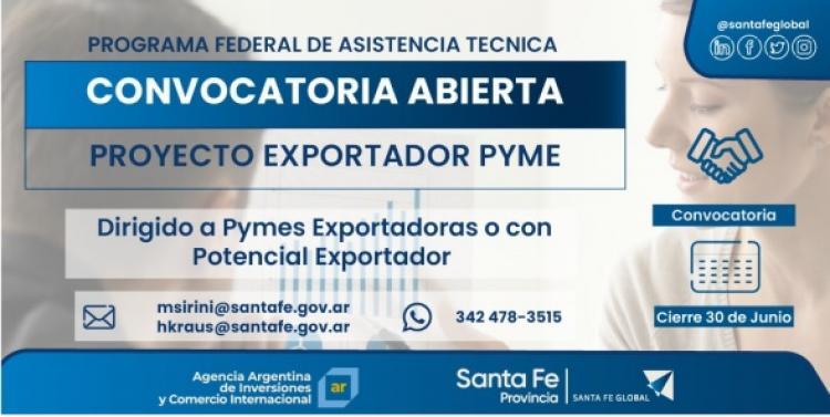 Proyecto Exportador PYME - Programa Federal de Asistencia Técnica