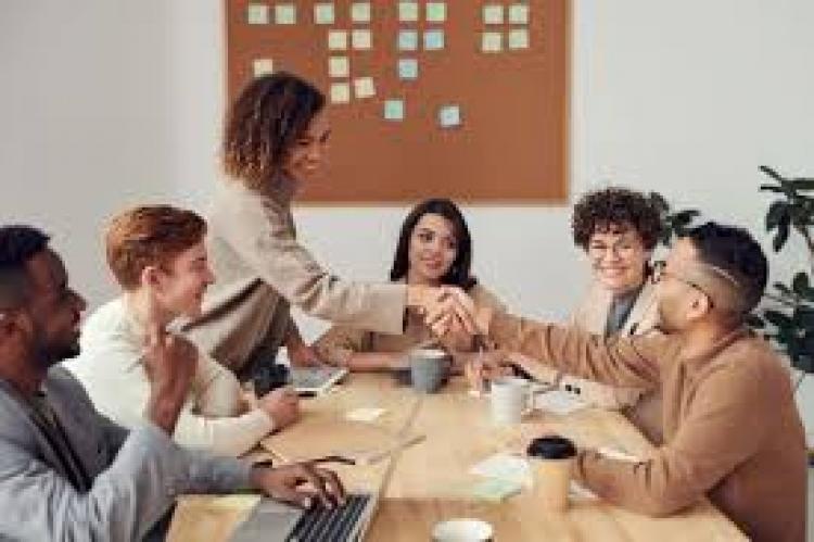 La reunión con los vendedores