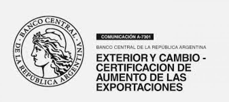 Certificaciones De Aumento de Exportaciones y su Cálculo