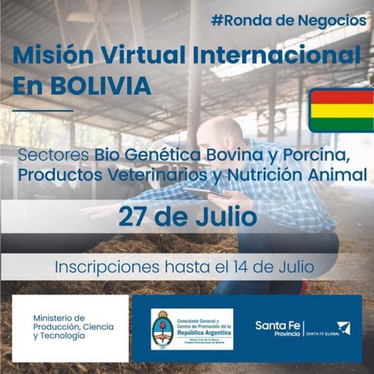 Mision Comercial Virtual a Bolivia