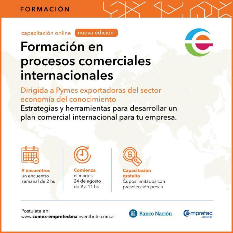 Programa Empretec para PYMEX Sector Economia del Conocimiento