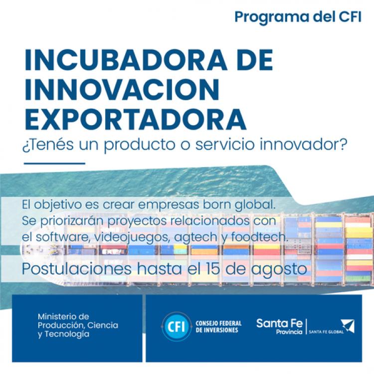 Incubadora de Innovacion Exportadora