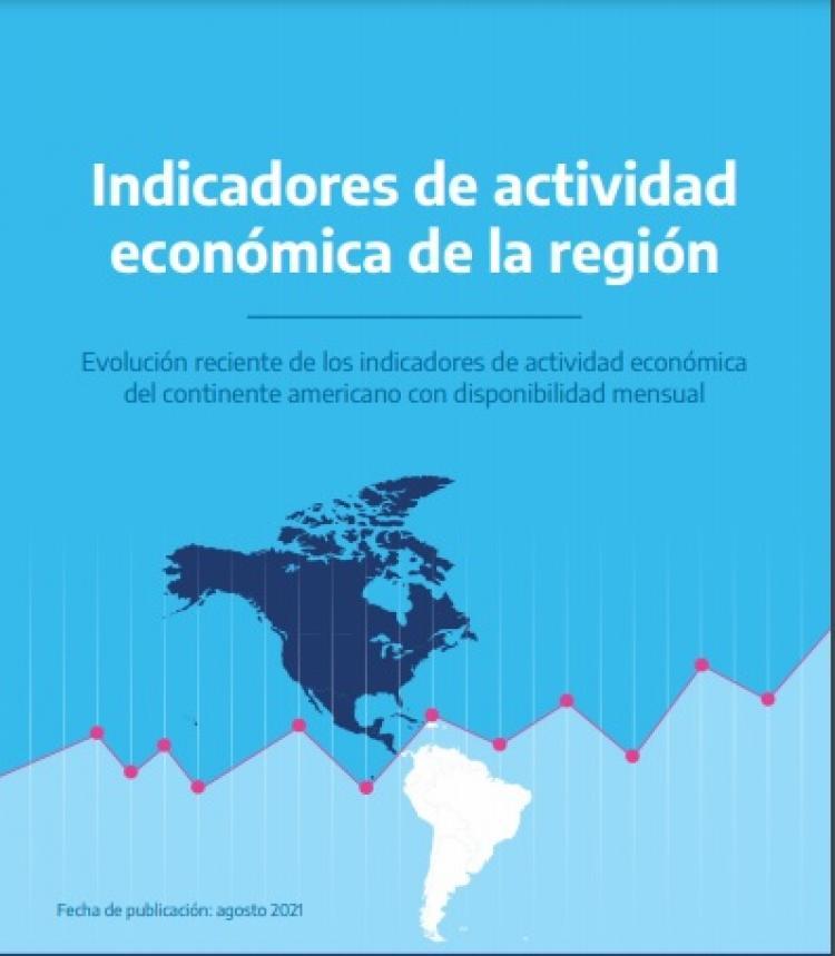 Indicadores de actividad económica de la región