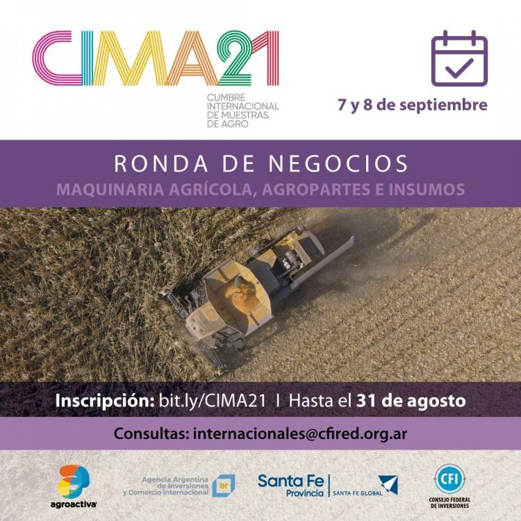 Ronda de Negocios Internacional CIMA21.