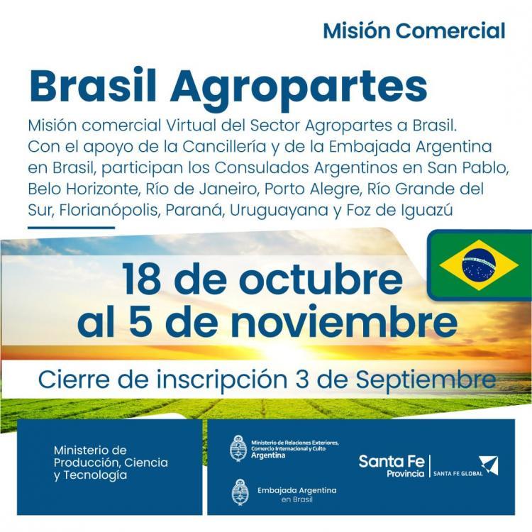 Mision Comercial Agropartes - Brasil