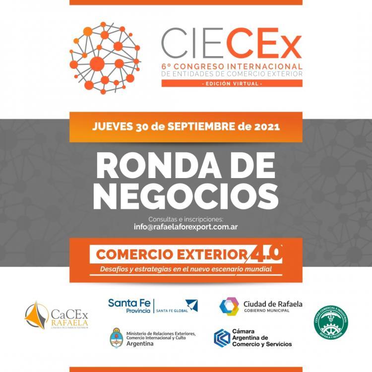 Rondas de Negocios en CIECEX 2021