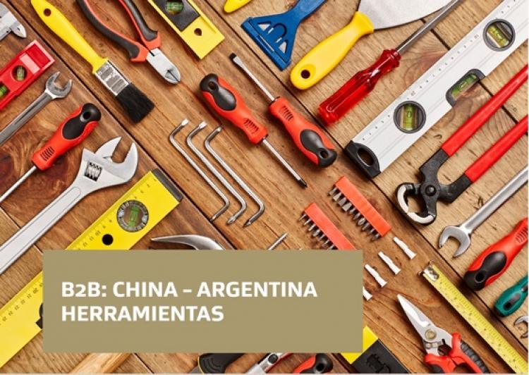 Encuentro de negocios virtual - B2B China-Argentina para el sector de Herramientas