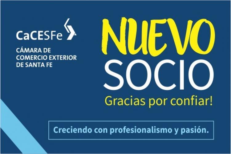 Bienvenido un nuevo socio a la Comunidad CaCESFe